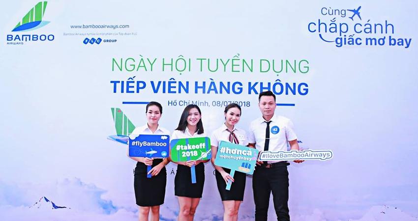 Bamboo Airways tuyển dụng nhân viên liên tục