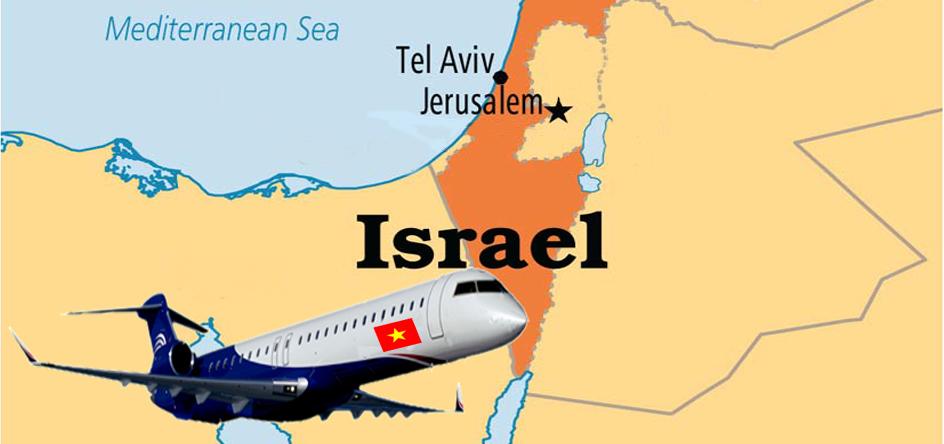 Thời gian bay từ Việt Nam sang Israel mất bao lâu?