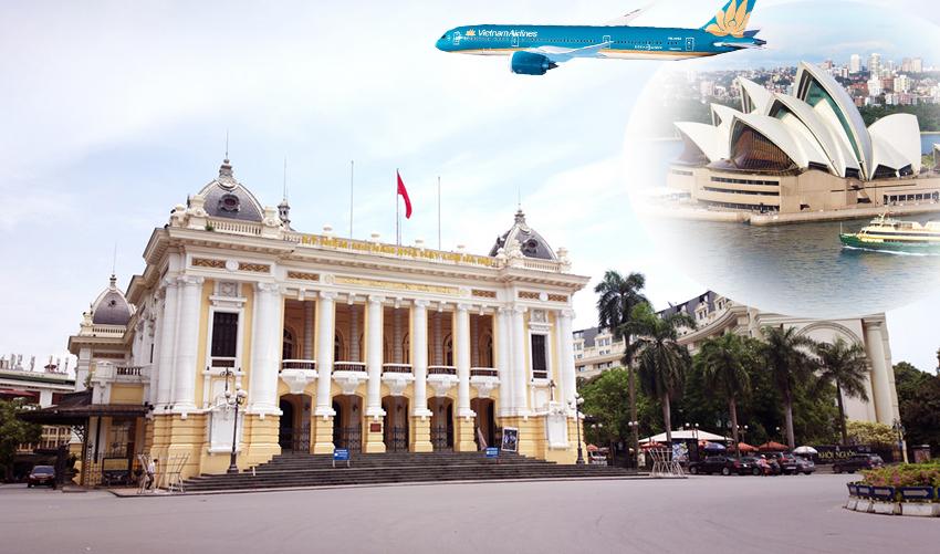 Các chuyến bay từ Úc về Việt Nam giúp kiều bào có lựa chọn tốt nhất