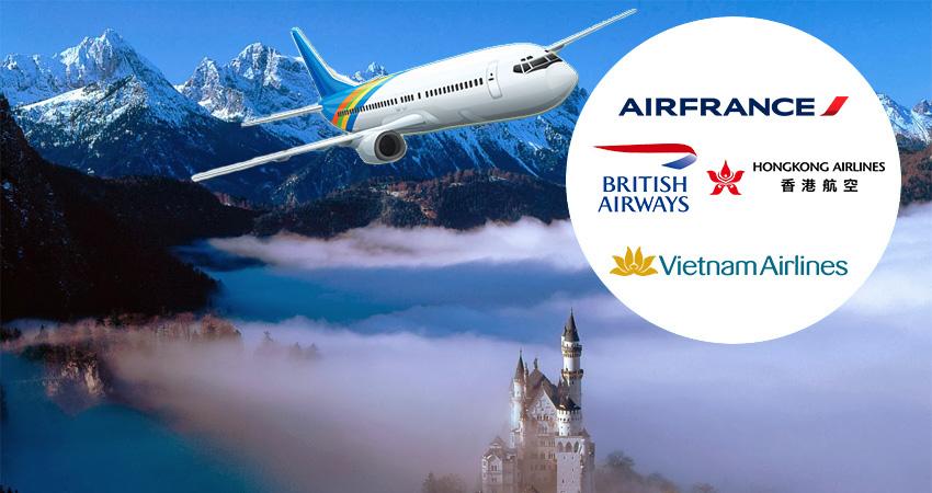 Các hãng máy bay đi Thụy Sĩ bạn nên biết trước khi đi nhé