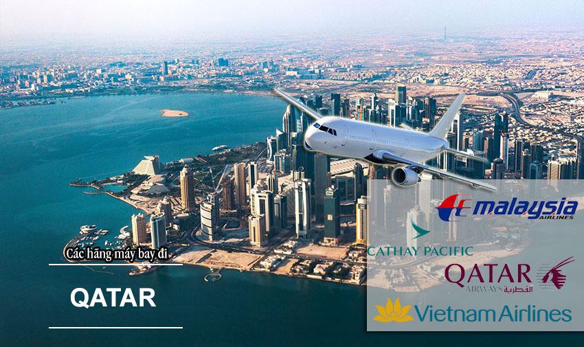 Top các hãng máy bay đi Qatar chất lượng bậc nhất thế giới