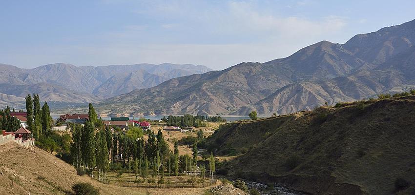 thiên nhiên Uzbekistan