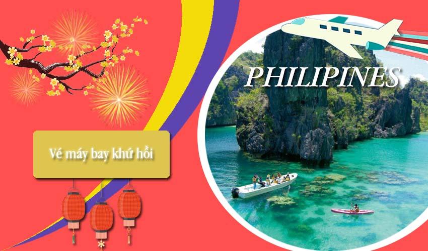 Giá vé máy bay khứ hồi đi Philippines rẻ mà chất lượng cực tốt nhé !