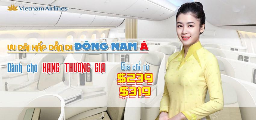 Hạng thương gia Vietnam Airlines là gì vậy?