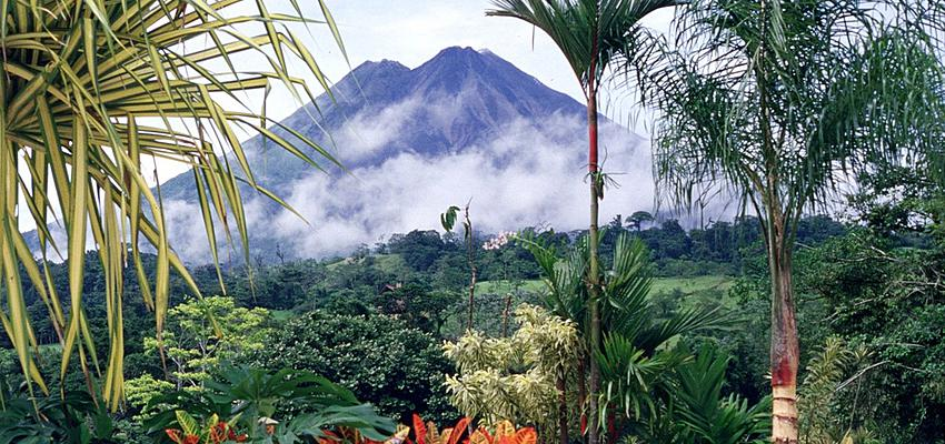 khám phá núi rừng Costa Rica