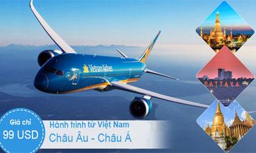 Việt Nam - Châu Âu, Á