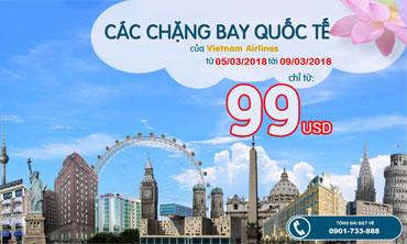 Vietnam Airlines - Quốc Tế