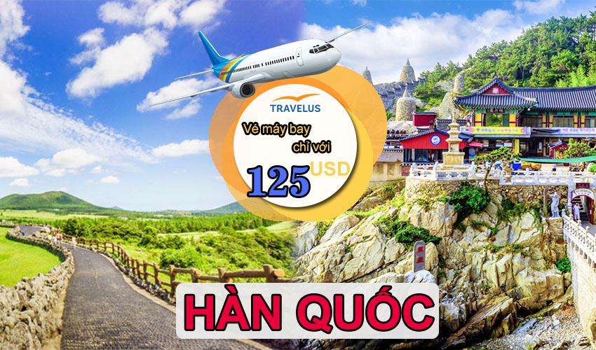 Kinh nghiệm mua vé máy bay giá rẻ đi Hàn Quốc nhất định phải xem