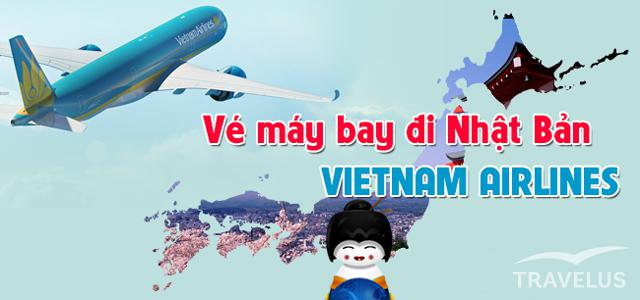 ve may bay di nhat vietnam airline