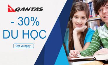 Qantas - Du Học