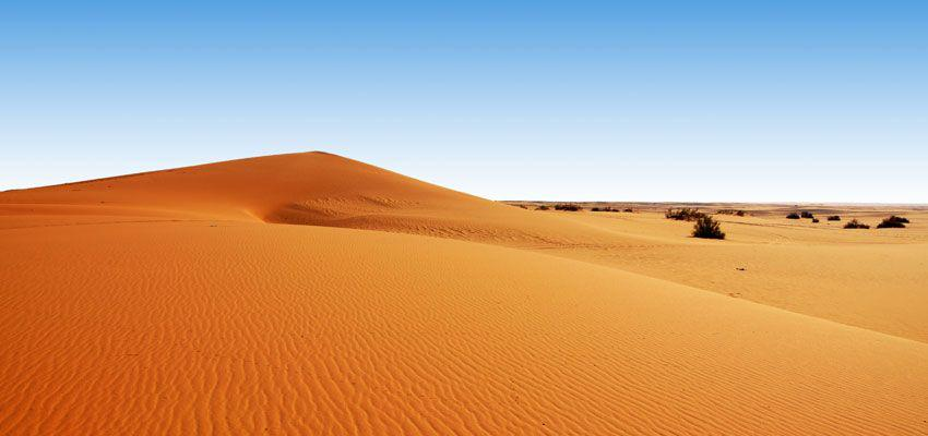 sa mạc ở a rap