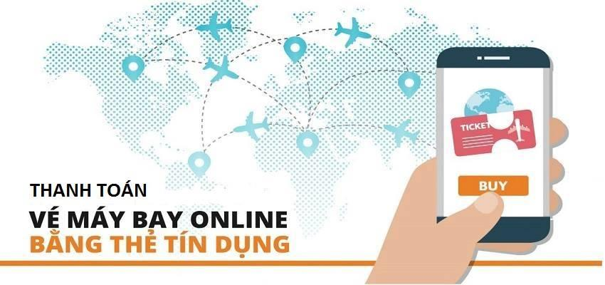thanh toán vé máy bay online
