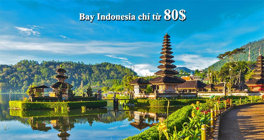 Vé máy bay đi Indonesia giá bao nhiêu tiền vậy?