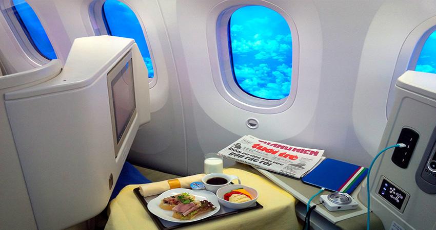 Vé máy bay đi Úc hạng thương gia khứ hồi giá bao nhiêu