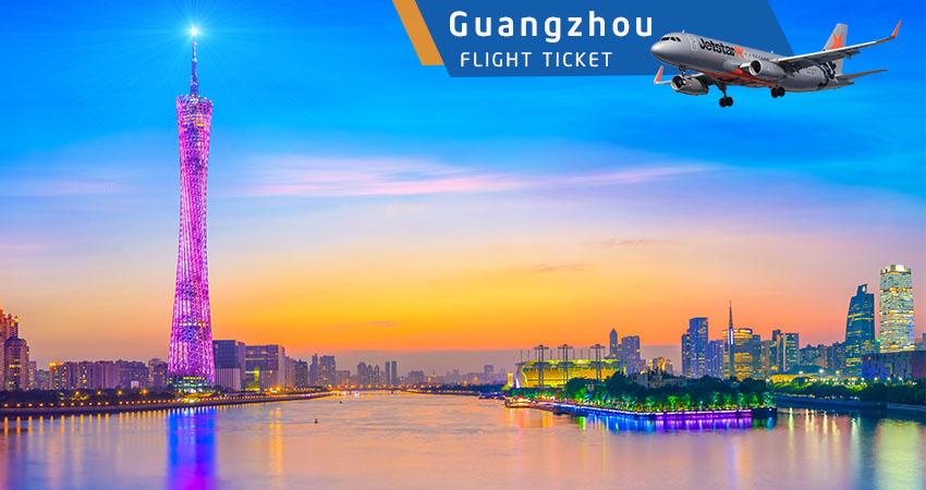 Vé máy bay đi Quảng Châu Jetstar