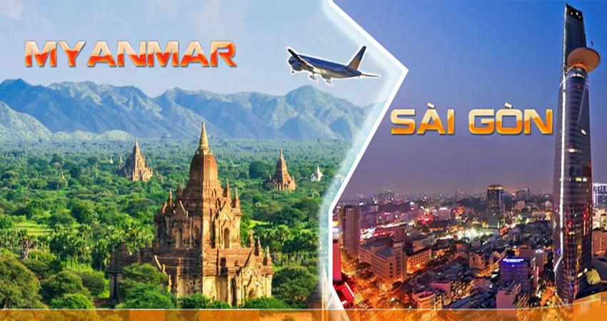 Giá vé máy bay khứ hồi đi Myanmar đang nhiều khuyến mãi