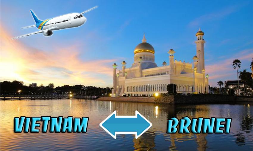 Vé máy bay đi Brunei khứ hồi - Book ngay để nhận khuyến mãi