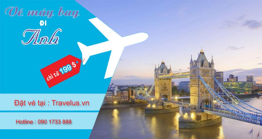 Vé máy bay đi Anh bao nhiêu tiền khứ hồi hôm nay?