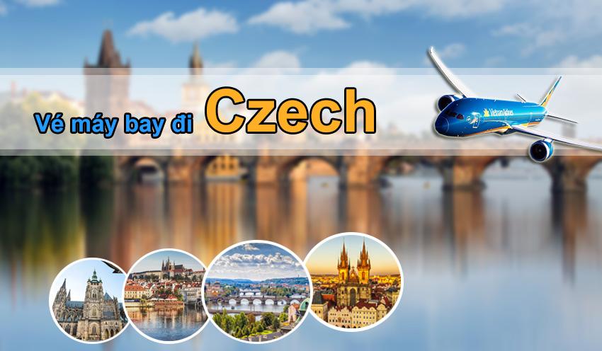 Vé máy bay đi Cộng hòa Séc Vietnam Airlines đặt sớm ưu đãi lớn