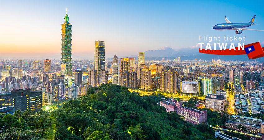 Giá vé máy bay đi Đài Loan Vietnam Airlines
