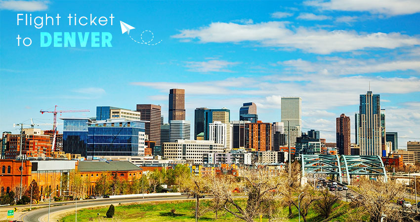 ve may bay di denver