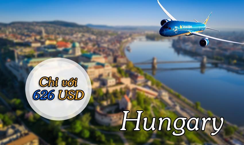 Vé máy bay đi Hungary Vietnam Airlines giá rẻ ưu đãi cực shock