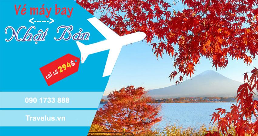 Giá vé máy bay đi Nhật khứ hồi bao nhiêu tiền