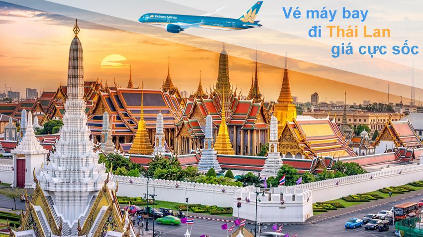 Vé máy bay đi Thái Lan của Vietnam Airlines cho mùa du lịch nào