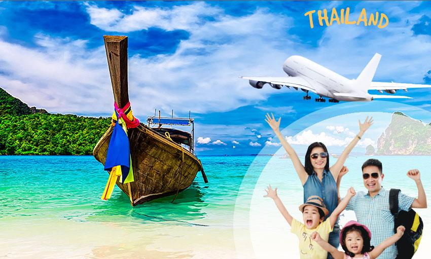 Giá vé máy bay đi Thái Lan khứ hồi bao nhiêu