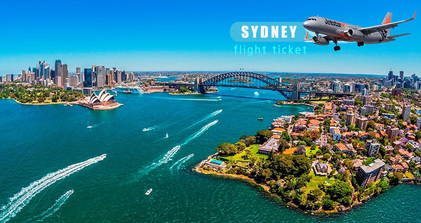 Vé máy bay Jetstar đi Sydney