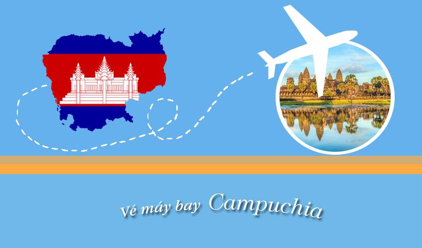 Vé máy bay khứ hồi đi Campuchia giá rẻ không tin nổi !!!