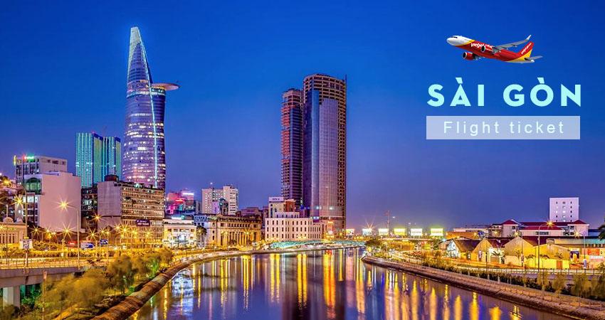 Vé máy bay đi Sài Gòn Vietiet Air