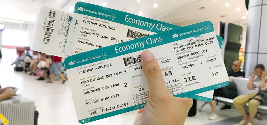 Cách xem hạng vé máy bay và điều kiện từng hạng vé